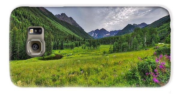 The Maroon Bells - Maroon Lake - Colorado Galaxy S6 Case