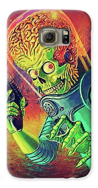 The Martian - Mars Attacks Galaxy S6 Case by Taylan Apukovska