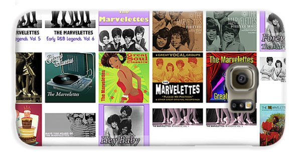 Rhythm And Blues Galaxy S6 Case - The Marvelettes 1 by Smart Aviation