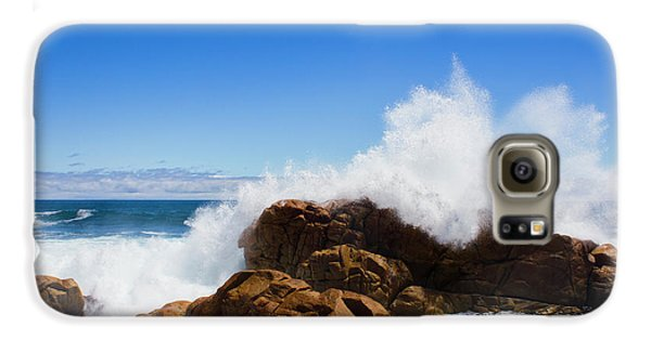 Galaxy S6 Case featuring the photograph The Might Of The Ocean by Jorgo Photography - Wall Art Gallery