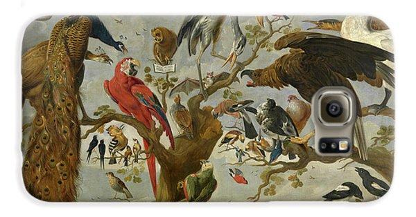 Meadowlark Galaxy S6 Case - The Mockery Of The Owl by Jan van Kessel
