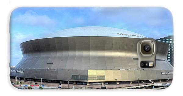 Galaxy S6 Case featuring the photograph The New Orleans Superdome by JC Findley