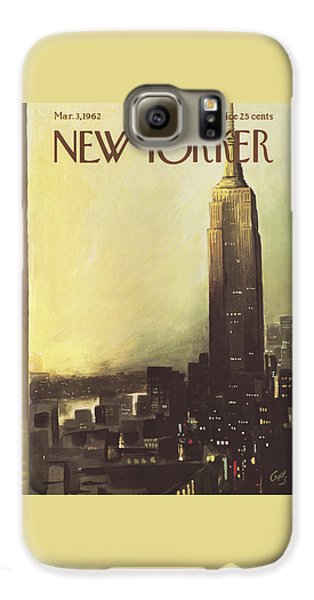 The New Yorker Cover - March 3rd, 1962 Galaxy S6 Case
