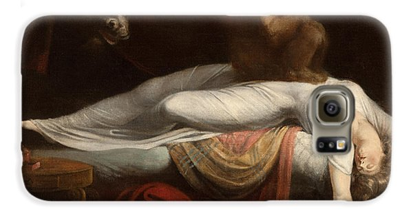 The Nightmare Galaxy S6 Case by Henry Fuseli