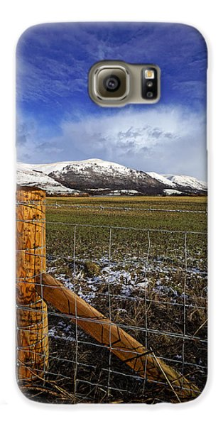 Galaxy S6 Case featuring the photograph The Ochils In Winter by Jeremy Lavender Photography