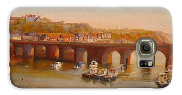 The Old Bridge - Folkestone Harbour Galaxy S6 Case