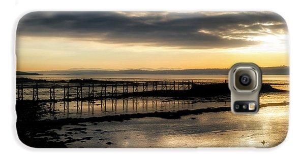 The Old Pier In Culross, Scotland Galaxy S6 Case