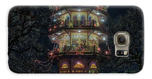 The Pagoda At Christmas Galaxy S6 Case