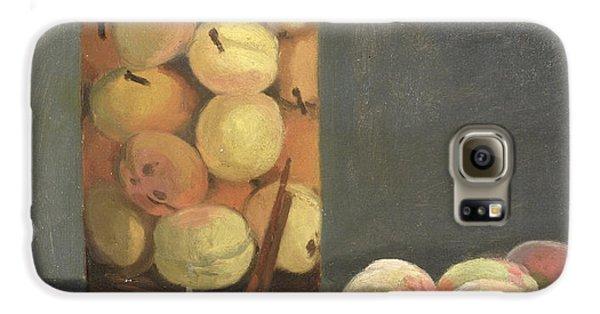 The Peach Glass Galaxy S6 Case by Claude Monet