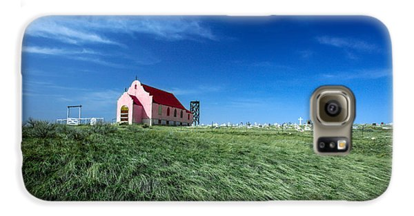 The Pink Church Galaxy S6 Case by Todd Klassy