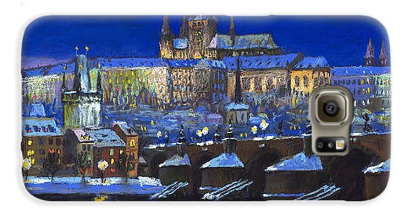 Castle Galaxy S6 Case - The Prague Panorama by Yuriy Shevchuk