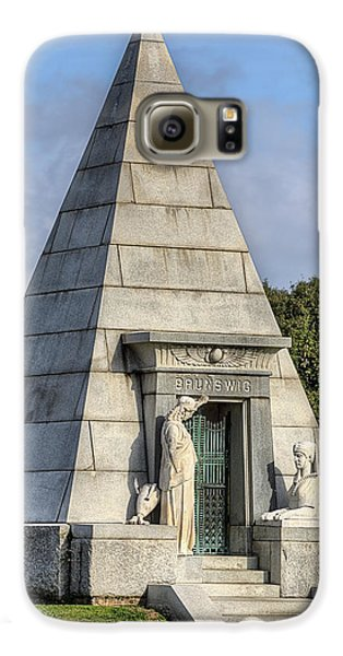 Galaxy S6 Case featuring the photograph The Pyramid In Metairie Cemetery by JC Findley