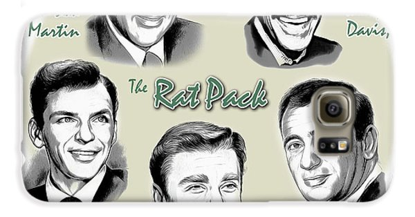 Frank Sinatra Galaxy S6 Case - The Rat Pack by Greg Joens