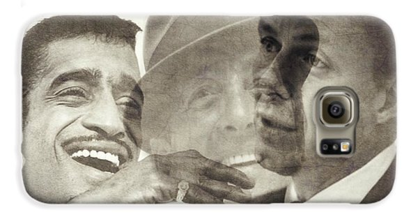 Frank Sinatra Galaxy S6 Case - The Rat Pack by Paul Lovering