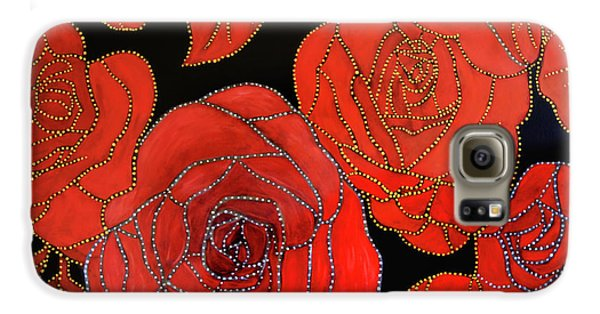 The Red Red Roses Galaxy S6 Case