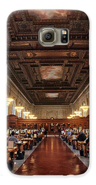 Galaxy S6 Case featuring the photograph The Rose Reading Room II by Jessica Jenney