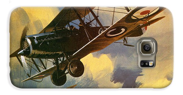 Airplane Galaxy S6 Case - The Royal Flying Corps by Wilf Hardy