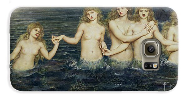 The Sea Maidens Galaxy S6 Case by Evelyn De Morgan