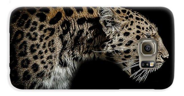 Leopard Galaxy S6 Case - The Seeker by Paul Neville