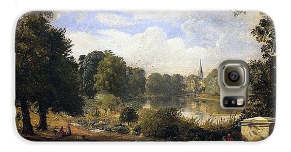 Hyde Park Galaxy S6 Case - The Serpentine by Jasper Francis Cropsey