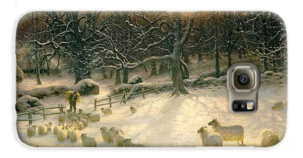 Mammals Galaxy S6 Case - The Shortening Winters Day Is Near A Close by Joseph Farquharson