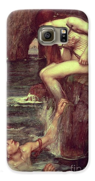 Extinct And Mythical Galaxy S6 Case - The Siren by John William Waterhouse