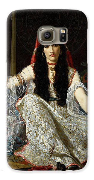 Voodoo Galaxy S6 Case - The Sorceress by Georges Merle
