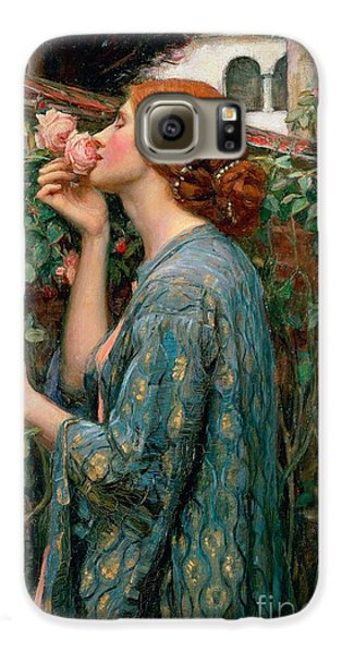 Rose Galaxy S6 Case - The Soul Of The Rose by John William Waterhouse