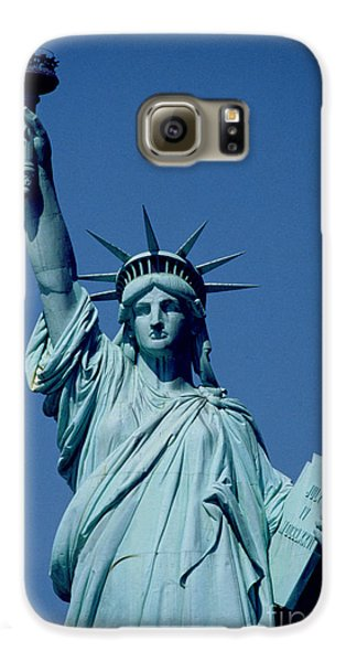 The Statue Of Liberty Galaxy S6 Case by American School