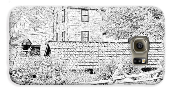 The Stone House At The Oliver Miller Homestead Galaxy S6 Case
