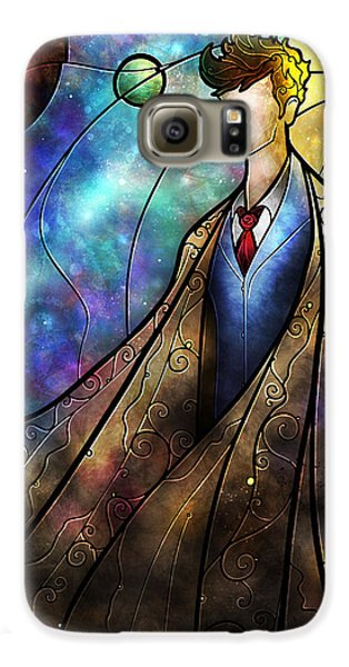 Doctor Galaxy S6 Case - The Tenth by Mandie Manzano