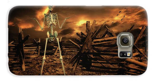 Crow Galaxy S6 Case - The Theatre Of War by Smart Aviation