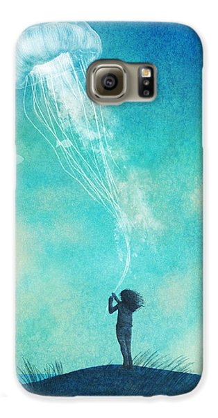 Beach Galaxy S6 Case - The Thing About Jellyfish by Eric Fan