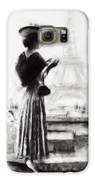 Eiffel Tower Galaxy S6 Case - The Traveler by Steve Henderson