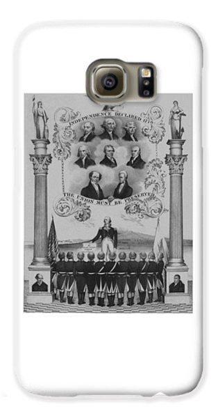 Thomas Jefferson Galaxy S6 Case - The Union Must Be Preserved by War Is Hell Store