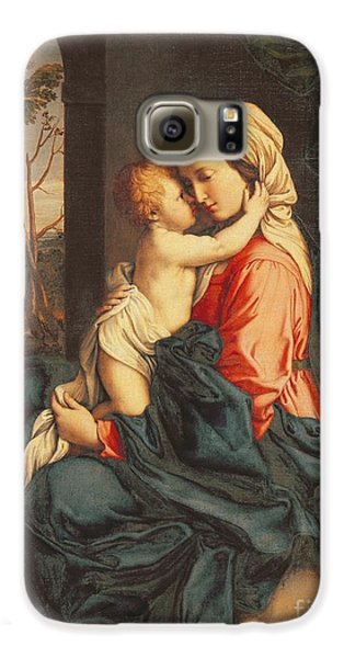 The Virgin And Child Embracing Galaxy S6 Case