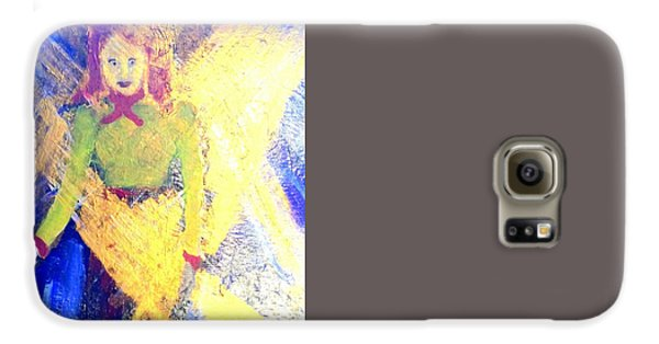 Shakira Galaxy S6 Case - Her Voice 1 by Richard W Linford