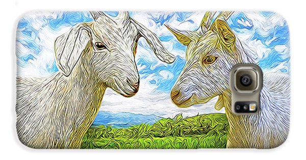 The Whispers Of Goats Galaxy S6 Case by Joel Bruce Wallach