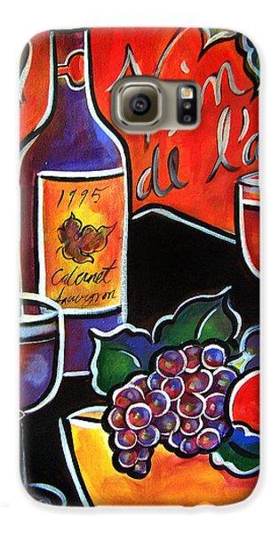 The Wine Of Love Galaxy S6 Case