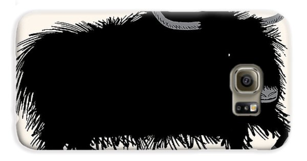 Yak Galaxy S6 Case - The Yak by Oliver Lake