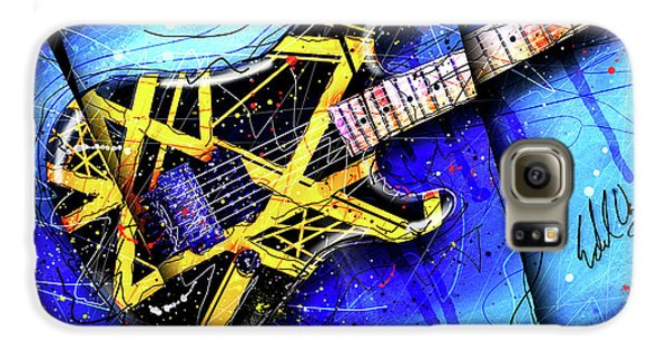 Van Halen Galaxy S6 Case - The Yellow Jacket_cropped by Gary Bodnar