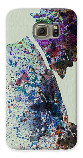 Thelonious Monk Watercolor 1 Galaxy S6 Case by Naxart Studio