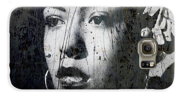 Rhythm And Blues Galaxy S6 Case - This Ole Devil Called Love  by Paul Lovering