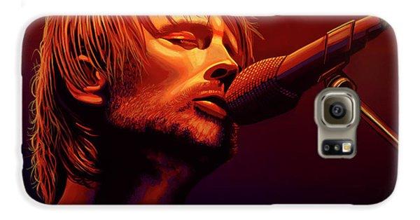 Drums Galaxy S6 Case - Thom Yorke Of Radiohead by Paul Meijering