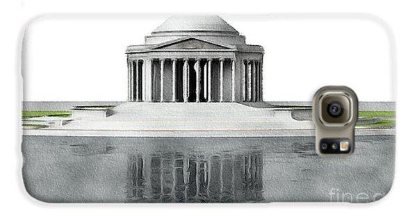 Jefferson Memorial Galaxy S6 Case - Thomas Jefferson Memorial, Washington by John Springfield