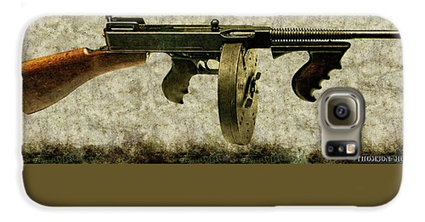 Thompson Submachine Gun 1921 Galaxy S6 Case