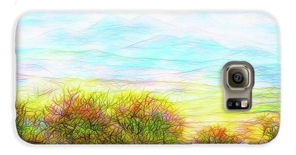 Through Mountain Mists Galaxy S6 Case by Joel Bruce Wallach