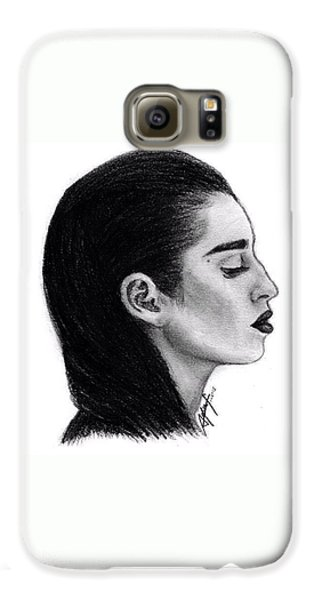Lauren Jauregui Drawing By Sofia Furniel Galaxy S6 Case