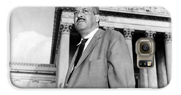 Washington D.c Galaxy S6 Case - Thurgood Marshall by Granger
