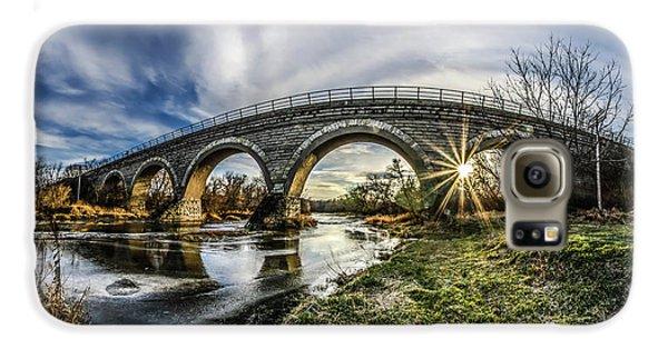 Tiffany Bridge Panorama Galaxy S6 Case